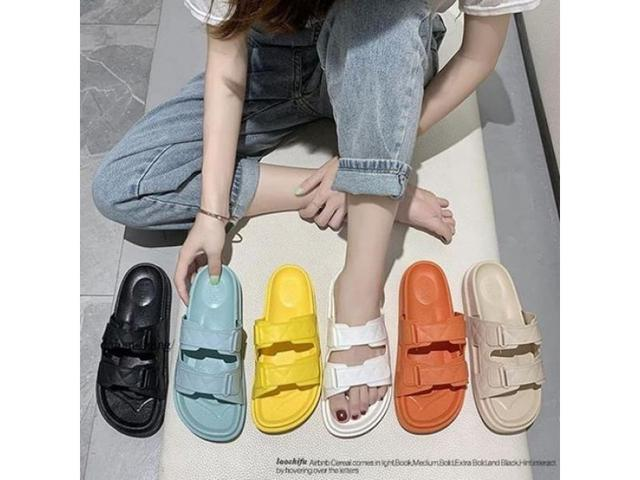 純色防滑防水勃肯系列拖鞋