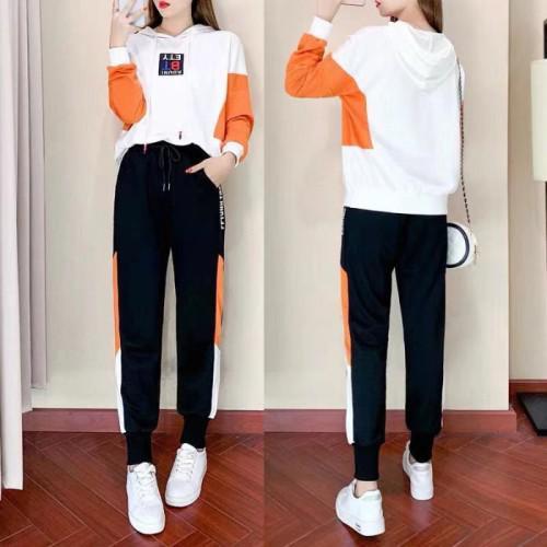 11 流行款 S-2XL 韓版 上衣+長褲運動套裝