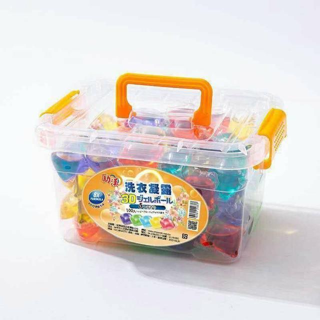 劻漢 洗衣凝露 洗衣球 100顆 精品盒裝