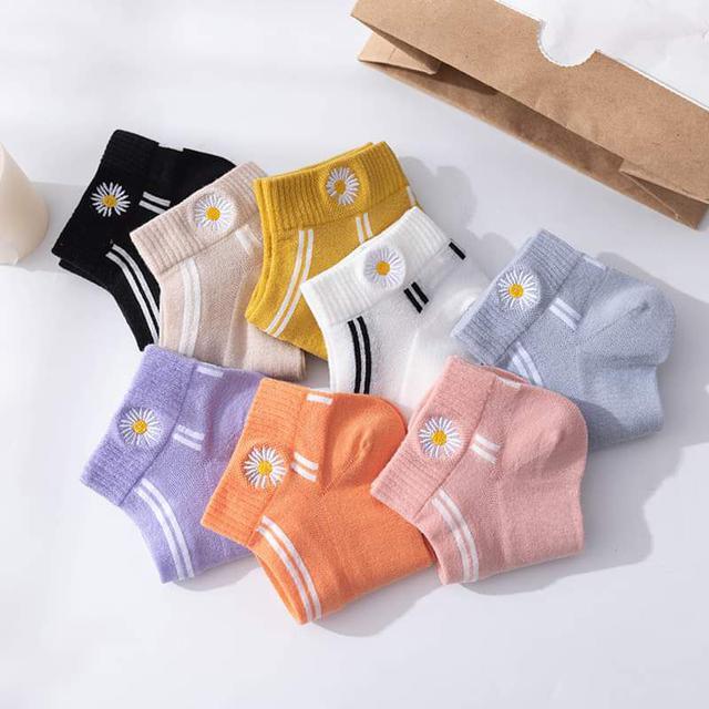 【預購】刺繡船襪組(10入)