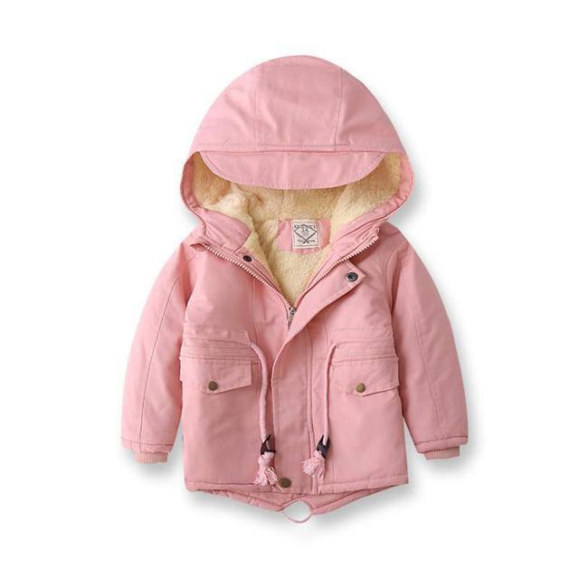 【預購】時尚經典簡約兒童風衣外套