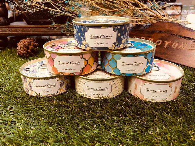 🌹夢幻花園罐罐蠟燭✨ 12罐