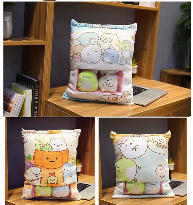 角落生物零食包-抱枕玩具