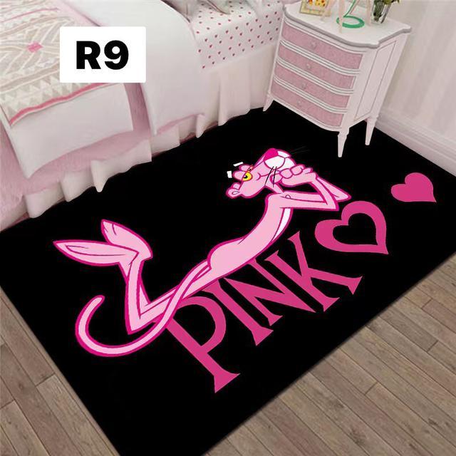 ins客廳地毯臥室可愛床邊茶几地墊網紅少女兒童房間家用門墊滿鋪80×120R1~R10