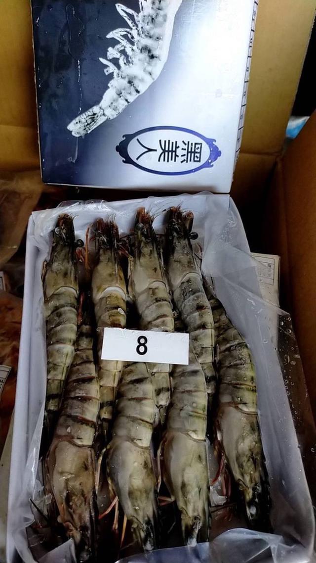 現貨 冷凍黑美人8P草蝦/盒 1年