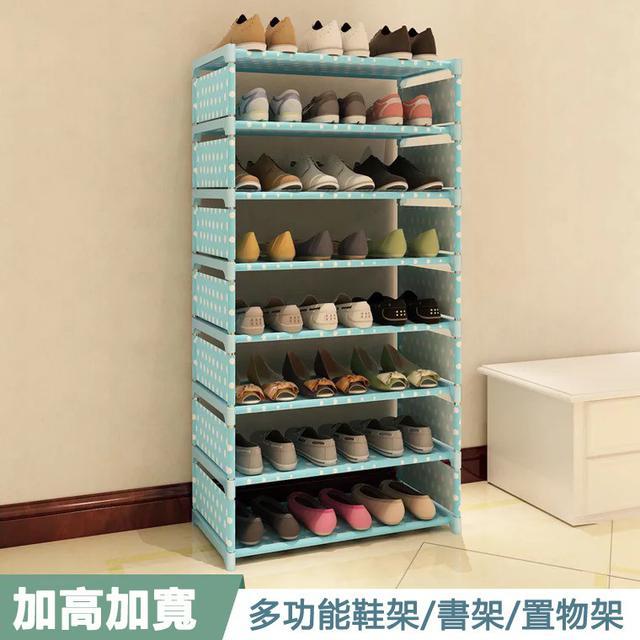 熱賣好用 四層鐵藝多層組裝收納鞋架 可拆解DIY組合櫃