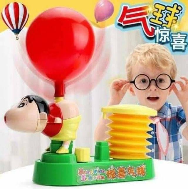 蠟筆小新屁屁吹氣球對戰(彩盒裝)