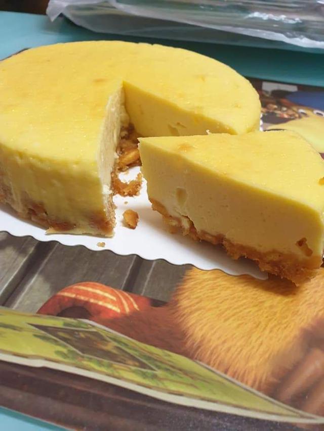 檸檬味輕乳酪蛋糕