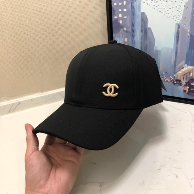香奈儿Chanel原单棒球帽,鸭舌帽,刺绣logo高端大牌范儿,男女通用,跑量款!