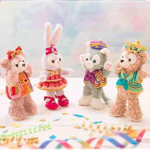 迪士尼海洋限定 海上最幸福的慶典紀念款玩偶吊飾 4種款式