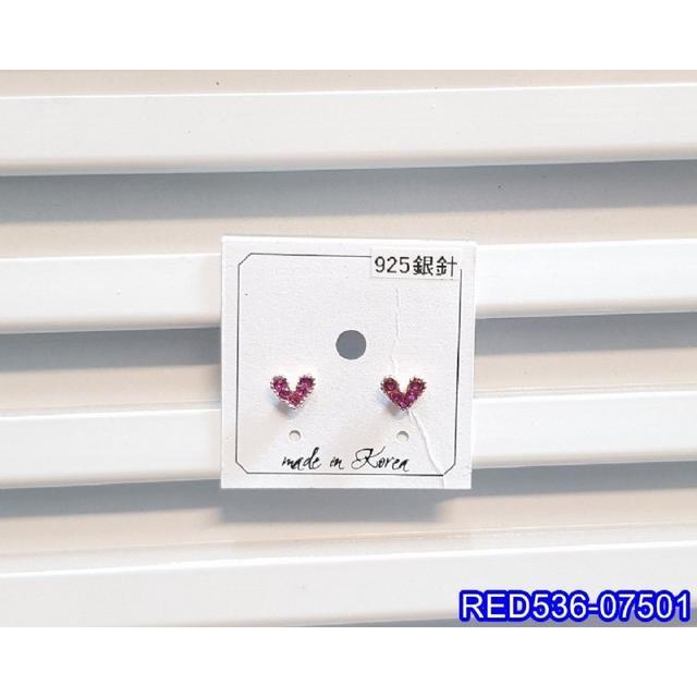 ❣️正韓S925純銀 小巧閃鑽愛心耳環   耳針 韓式❣️