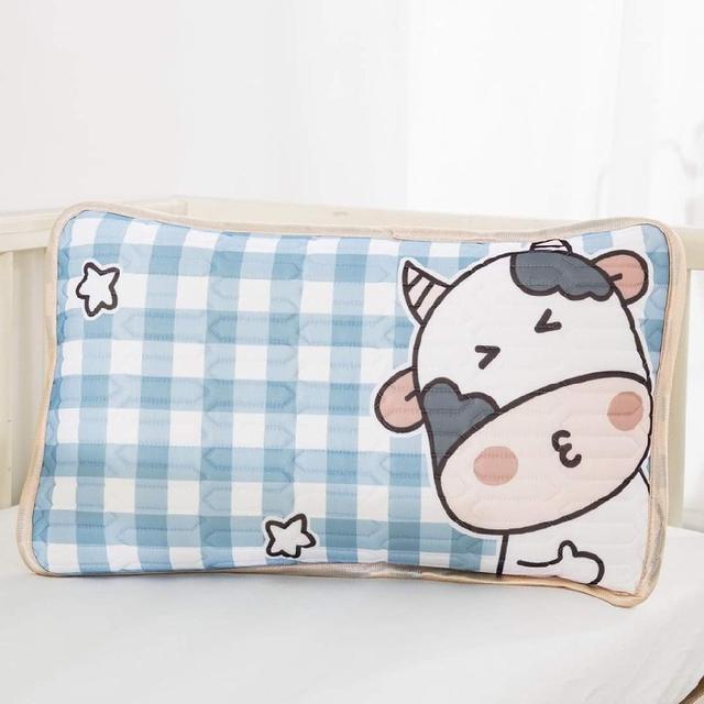 (預購s+) A468-卡通乳膠夾層涼感枕套