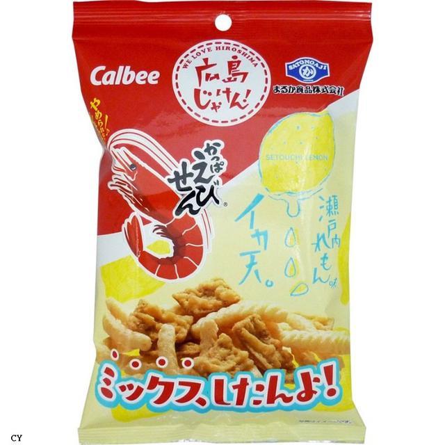 瀨戶內魷魚餅乾+蝦味仙、綜合包 5入/組