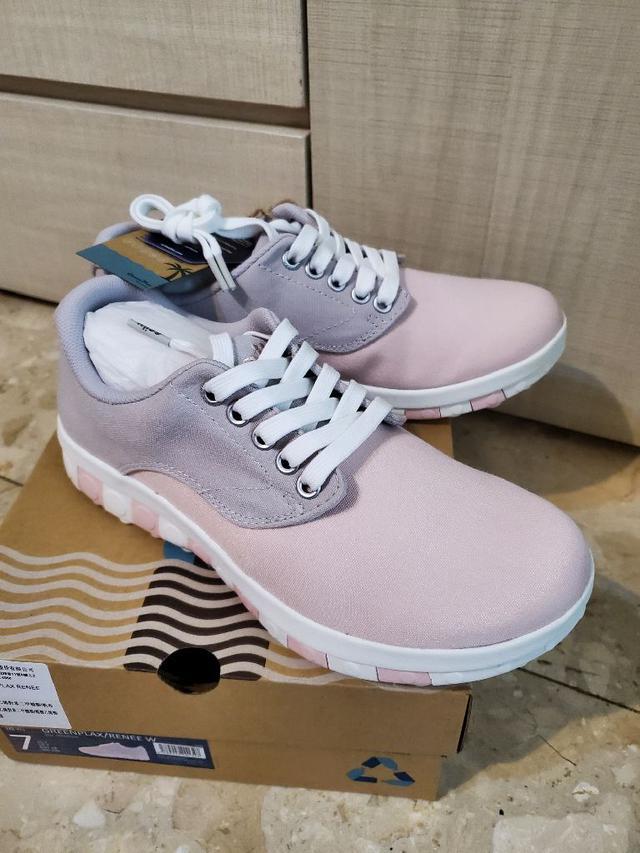 GreenPlax® 寶特鞋 櫻花粉 尺寸US7