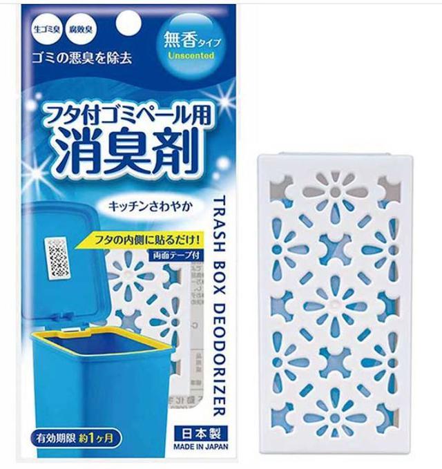日本 垃圾桶除臭貼片 DATI001