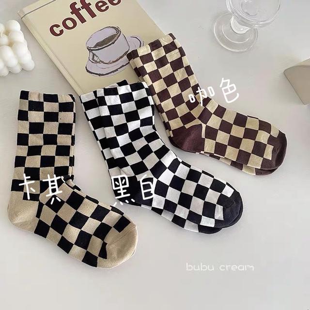 p.in shop-韓版復古襪子