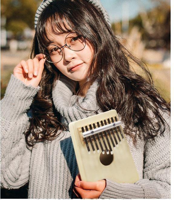 預購商品09/25結單  兒童學習卡林巴琴拇指琴17音