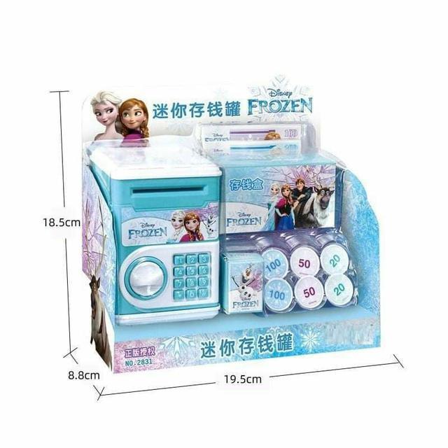 (預購S) G582 - 冰雪奇緣密碼存錢筒
