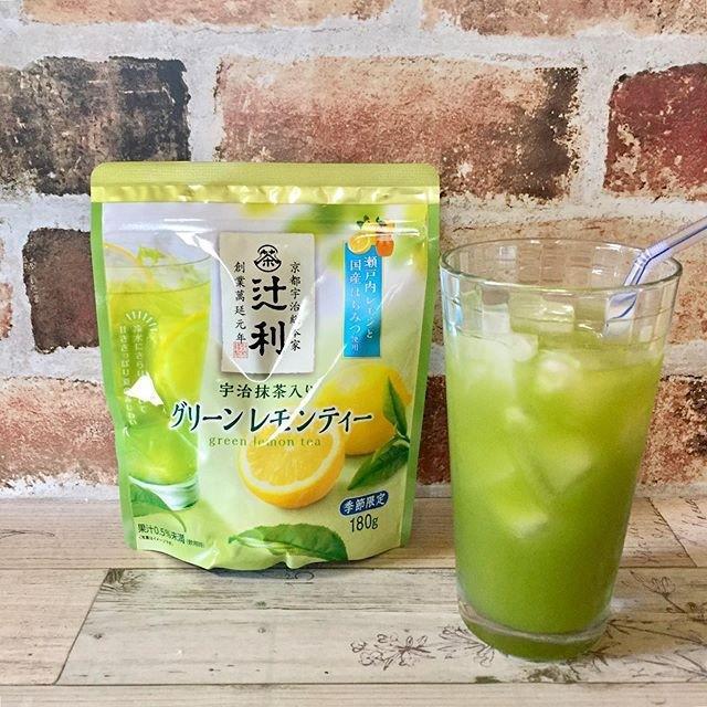 日本辻利宇治抹茶檸檬綠茶