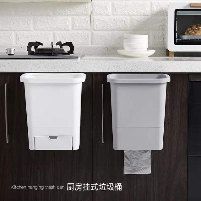 懸掛式廚房垃圾桶