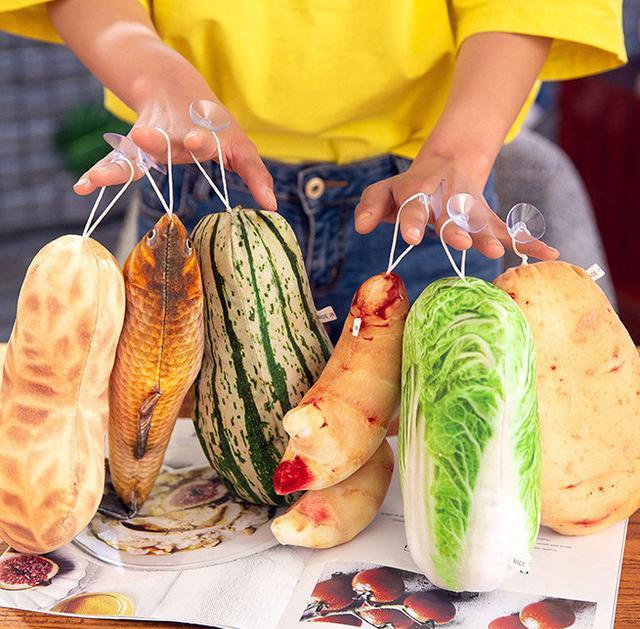 預購~【可愛仿真蔬菜吊飾】