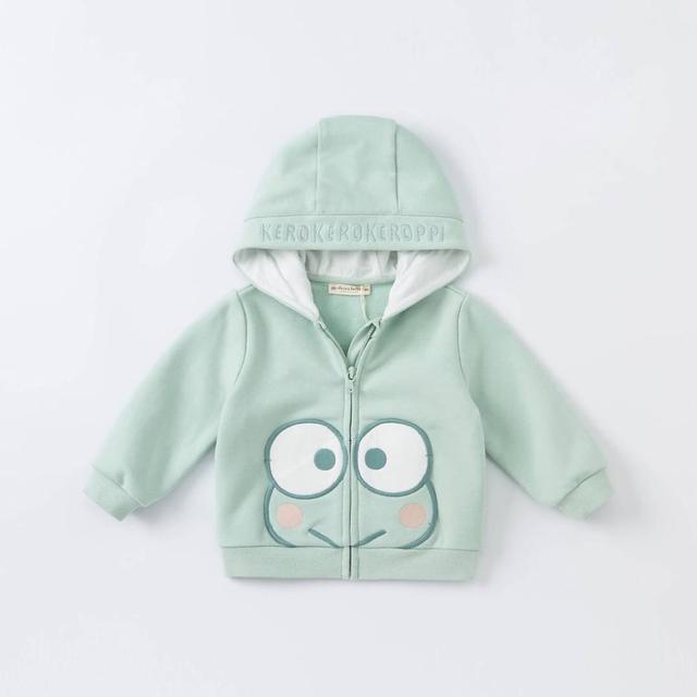 🔹秋季  大眼蛙外套 男童 外套 男寶寶 連帽上衣