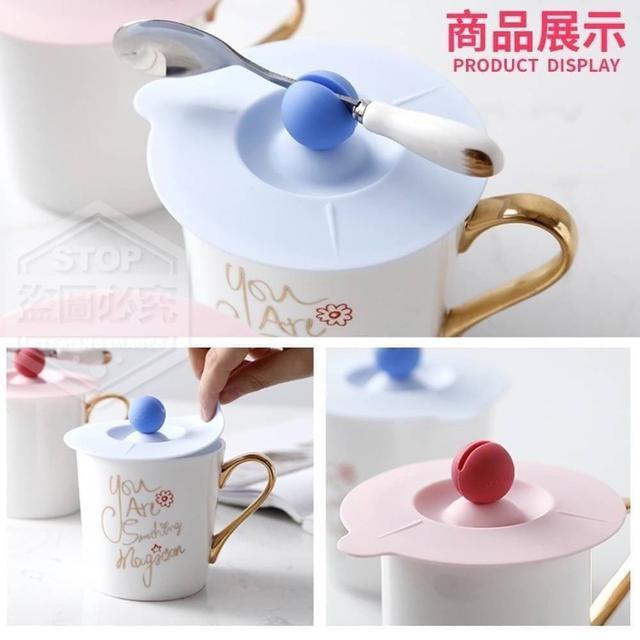 ✨矽膠密封夾勺杯蓋(3入)💕