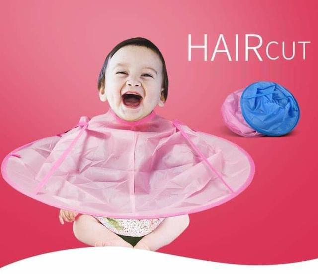 (預購S) G437 - 兒童剪染理髮不落地斗篷理髮衣