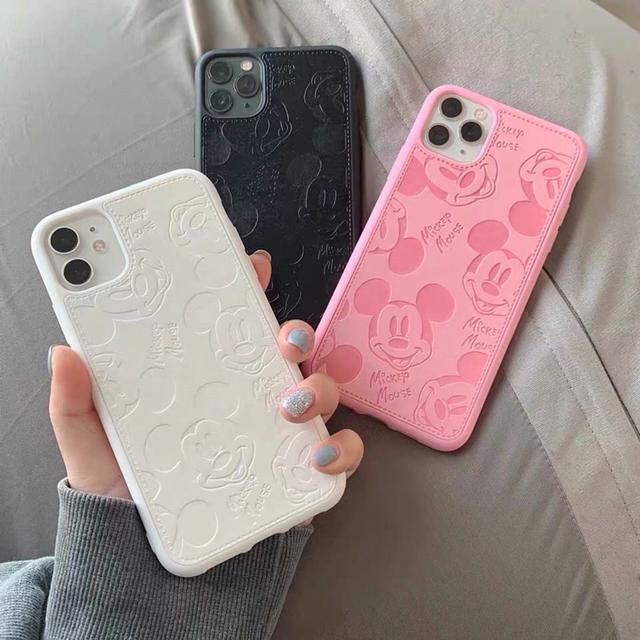 皮質米奇iphone11 promax手機殼8plus蘋果X套xsMax防摔6情侶XR潮7