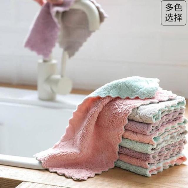 珊瑚絨抹布