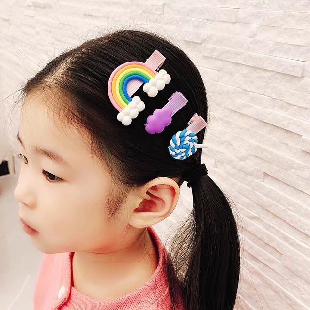 (預購)韓國棒棒糖髮夾套裝