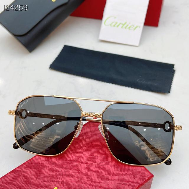 【Cartier】卡地亞眼鏡 CT0616S   ✨✨  !  size:59口18-145 #墨鏡