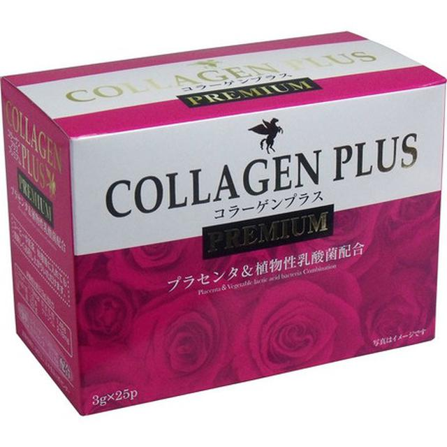 日本產 COLLAGEN PLUS PREMIUM 膠原蛋白粉 3g25包