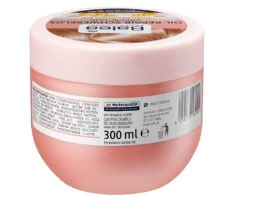 德國balea玫瑰油免沖洗護髮霜300ml
