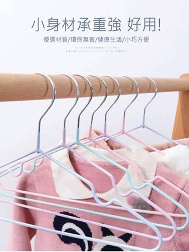 兒童歐風防滑衣架(10支/組)