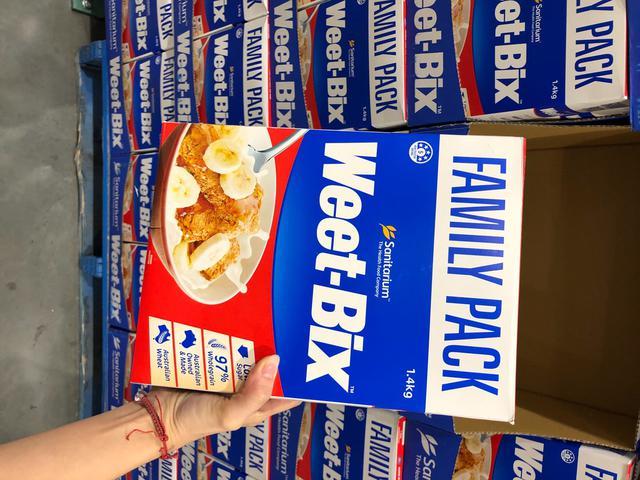 澳洲代購~Weet-Bix澳洲全穀麥香麥片(家庭版)1.4kg 大包裝