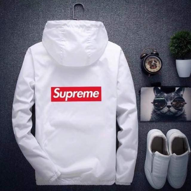 [現貨] Supreme 風衣外套 情侶外套 運動外套 有反光條 內裡還有一個口袋