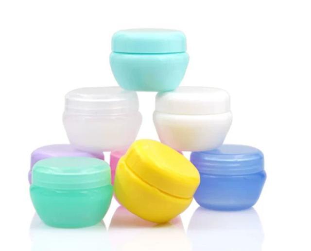 馬卡龍彩色面霜分裝罐