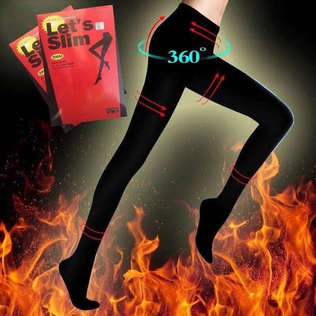 韓國Letsslim壓力襪200D瘦腿襪