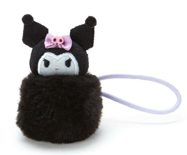 Sanrio 毛球造型髮束