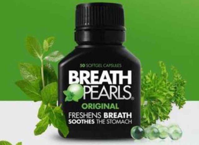 澳洲Breath Pearls約會必備香香口氣膠囊(50粒裝)