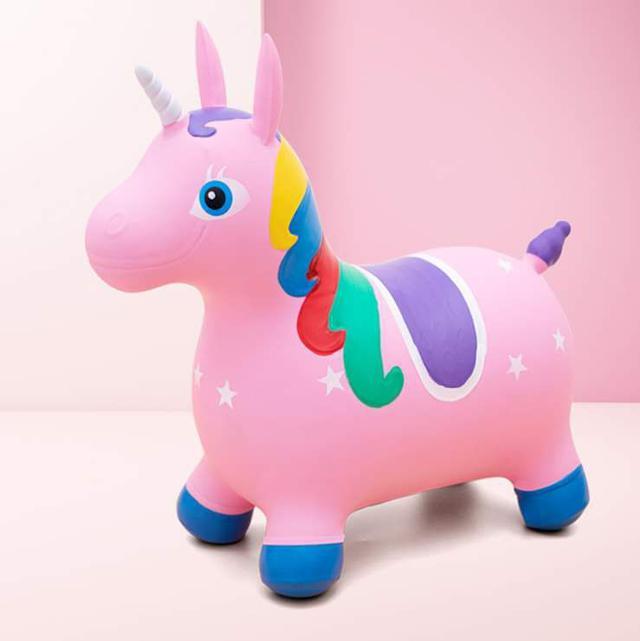 【預購】可愛彩繪跳跳馬