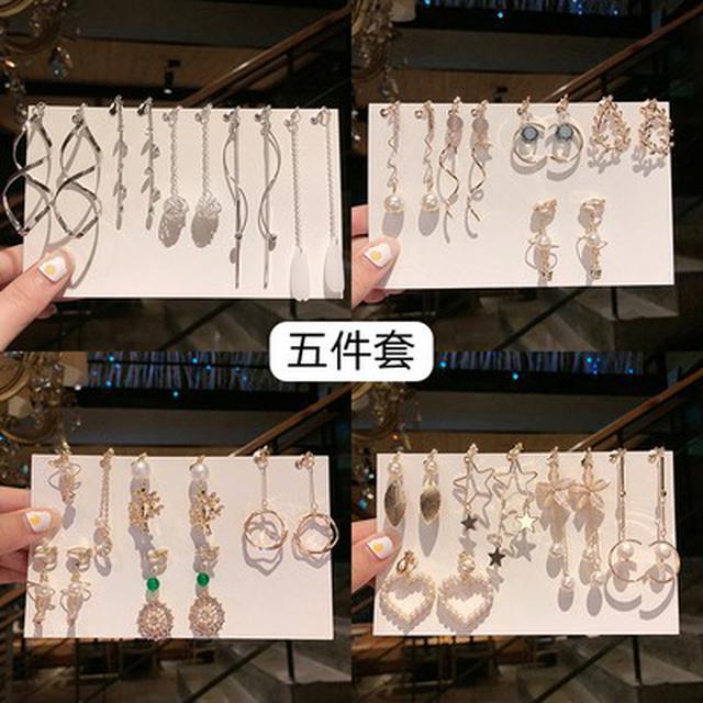 預購/無耳洞耳夾仙氣森系超仙耳環(天2-1)