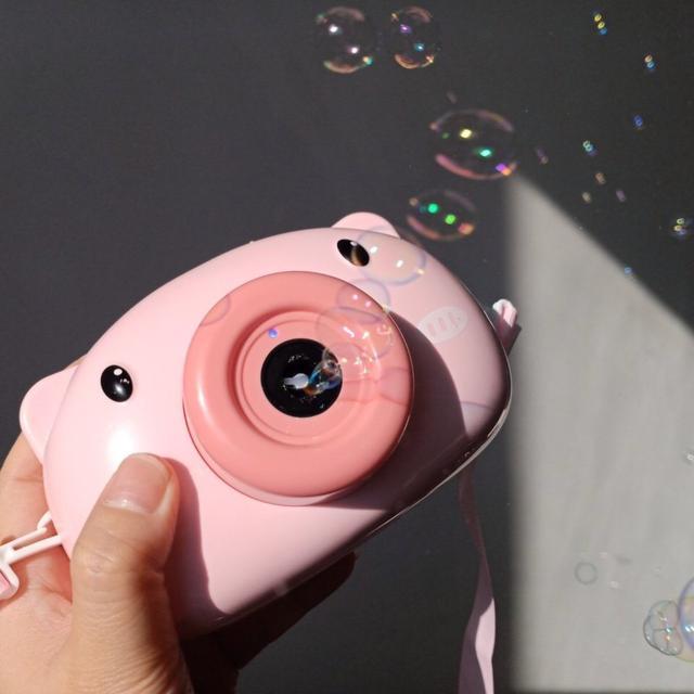 🔥抖音同款 豬豬泡泡相機