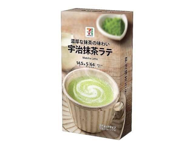 【日本直送🇯🇵7-11期間限定】宇治抹茶拿鐵 (5包入)(一組兩盒)