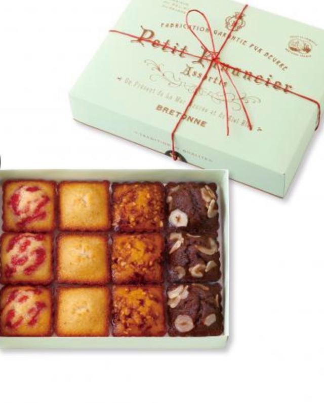 日本🇯🇵神戶人氣甜點🍮專賣店《Biscuitrie Bretonne》秋冬限定❇️❇️一口費南山雪糕禮盒🎁六盒起訂 預購