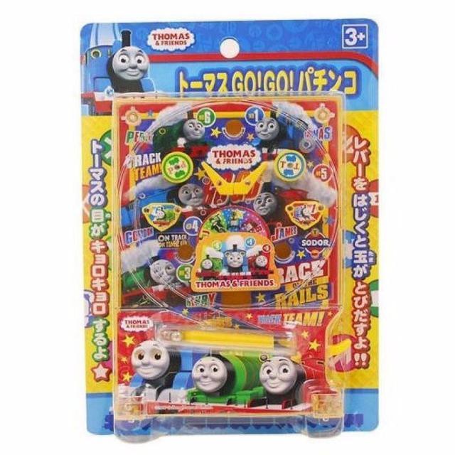 現貨 日本正品 湯瑪士小火車 打彈珠 柏青哥 兒童玩具 彈珠遊戲