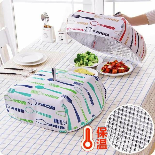 (預購s+) 可折疊保溫菜罩
