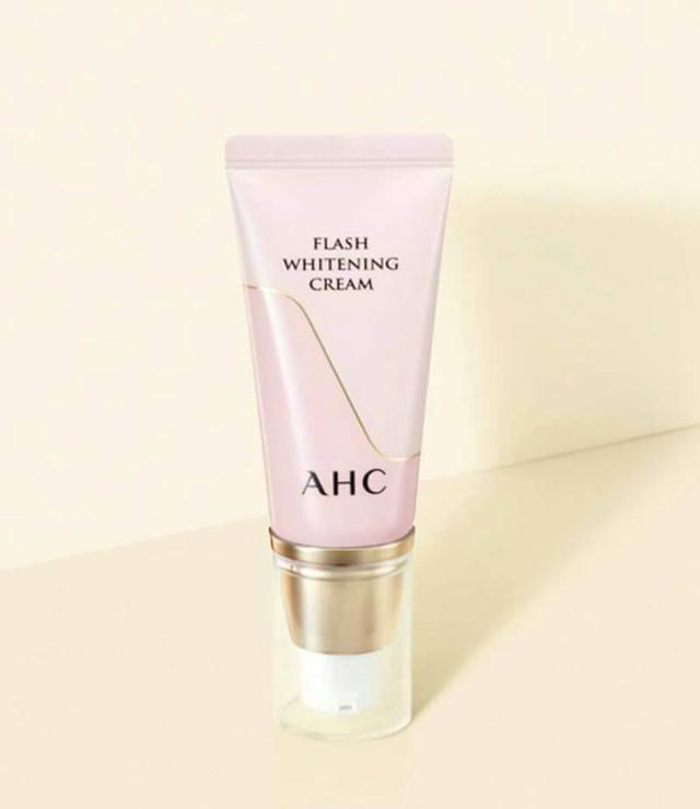 AHC粉紅美白防曬素顏霜