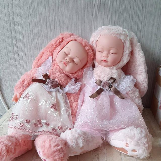 大號仿真睡萌娃娃